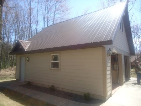 Photo of Metal Roof on Garage