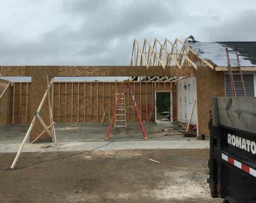 new garage builder