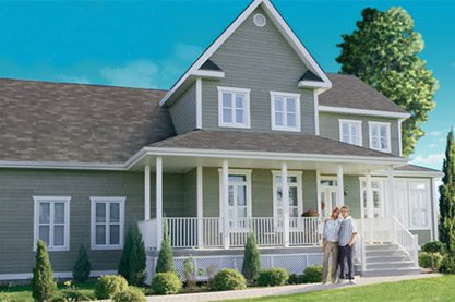 Photo of house with LP Smartside Siding